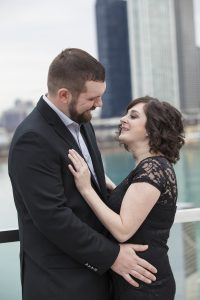 Navy Pier Engagement Session